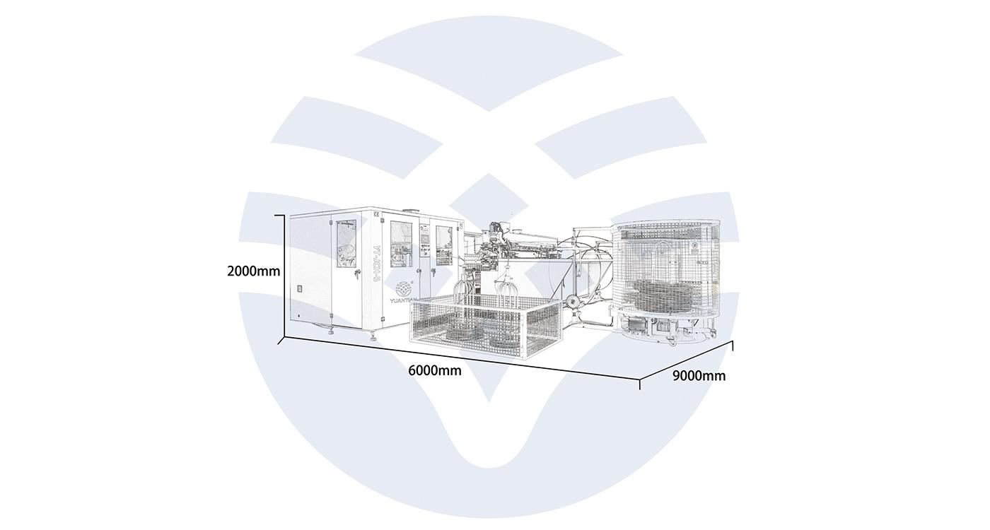 邦力尔全自动分区域床网组合机