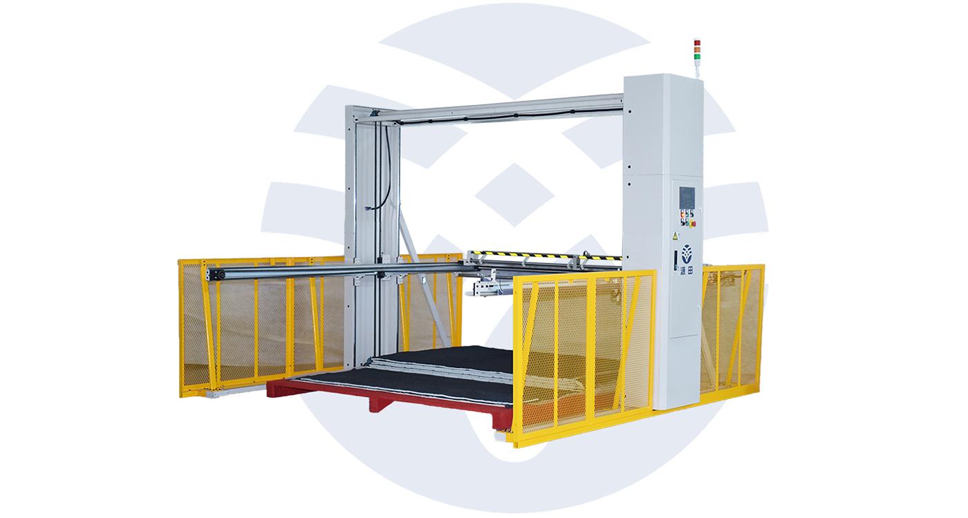 Semi-automatic Mattress Fabric Stacker