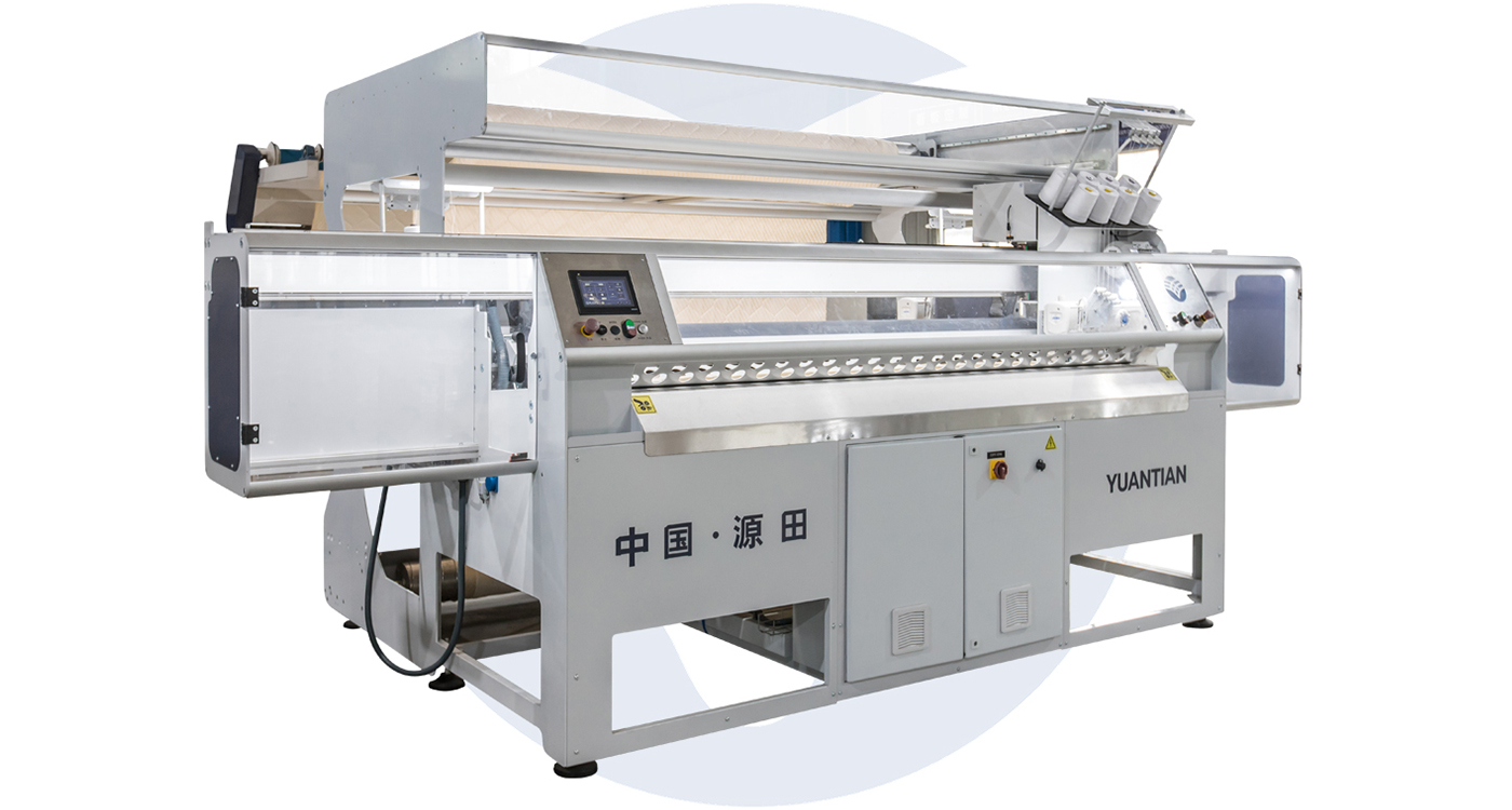 Automatic Fabric Cutting and Flanging Machine