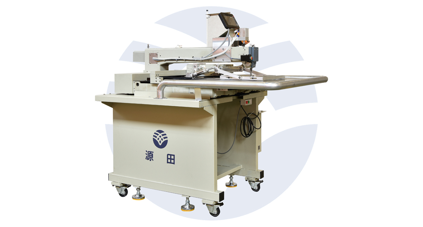 Semi-automatic Label Sewing Machine
