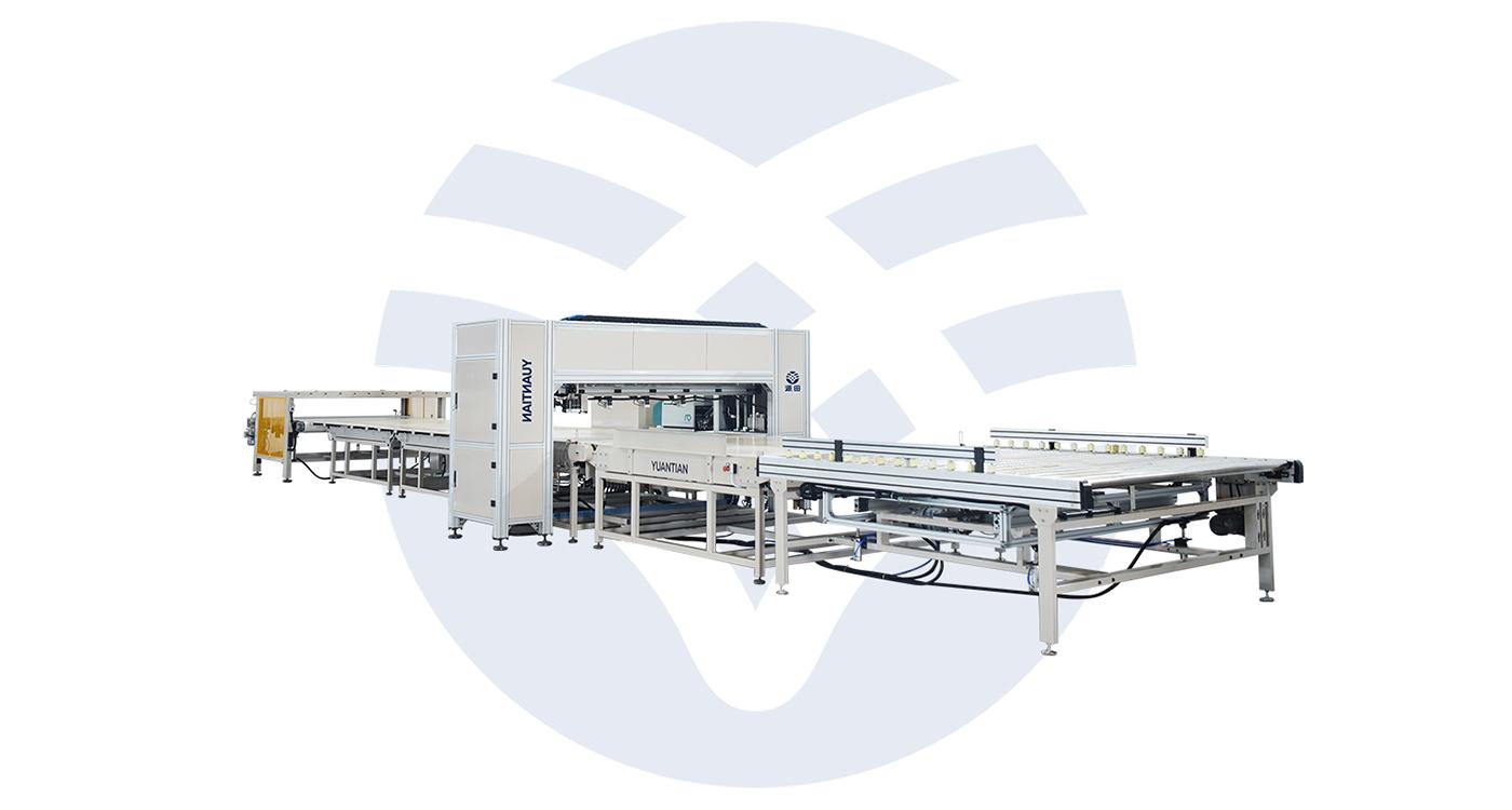 Automatic Mattress Spraying Line