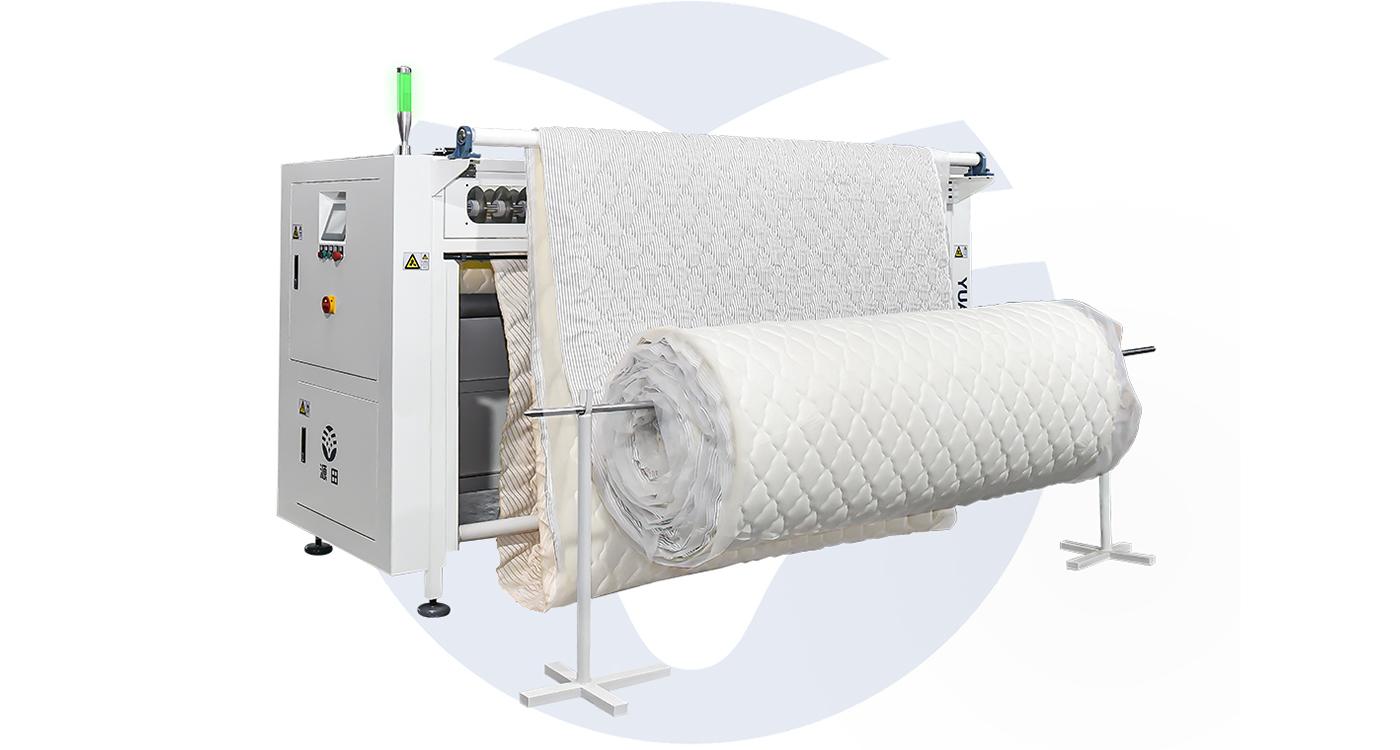 Automatic Fabric Roll Slitting Machine