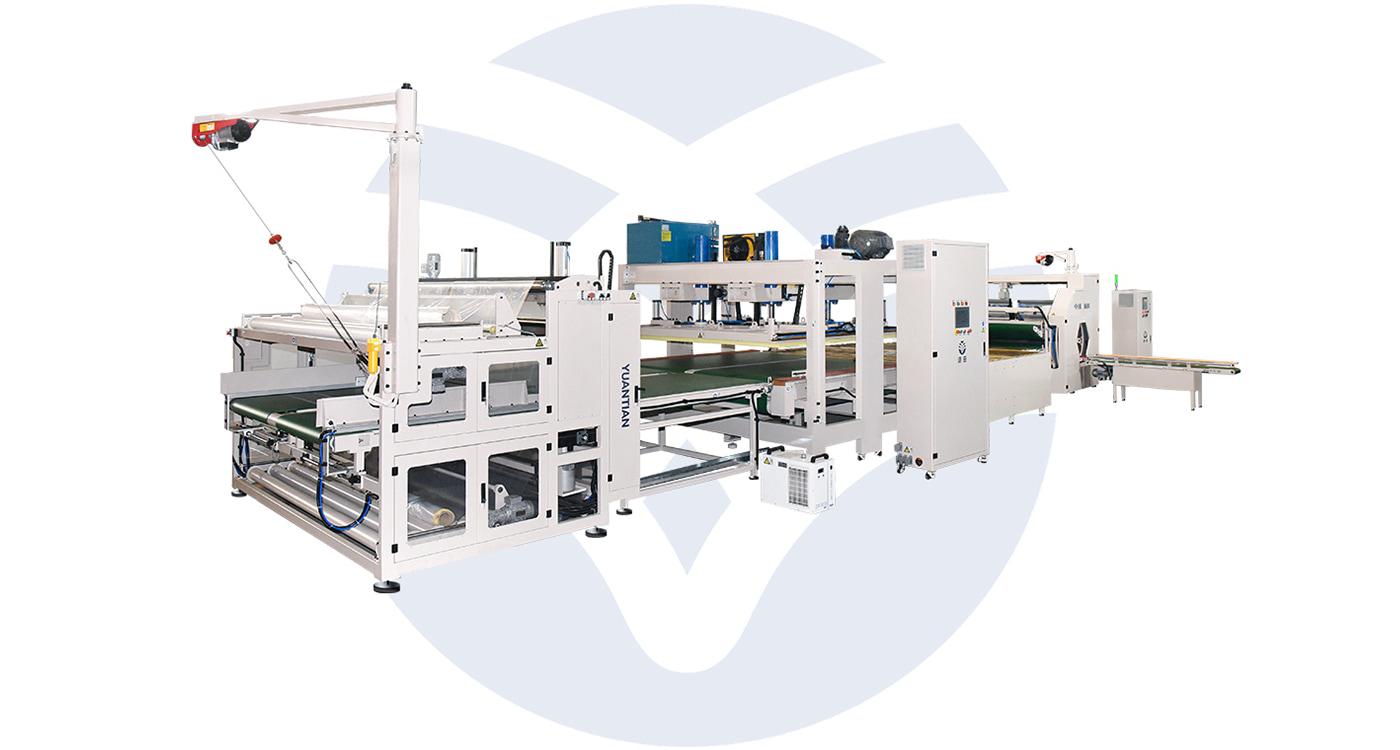 Automatic Mattress Roll Packaging Machine