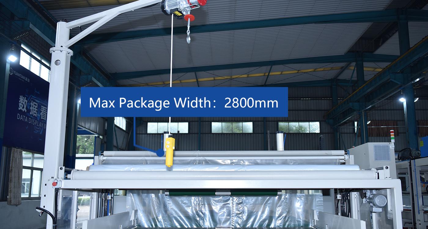 Max Package Width