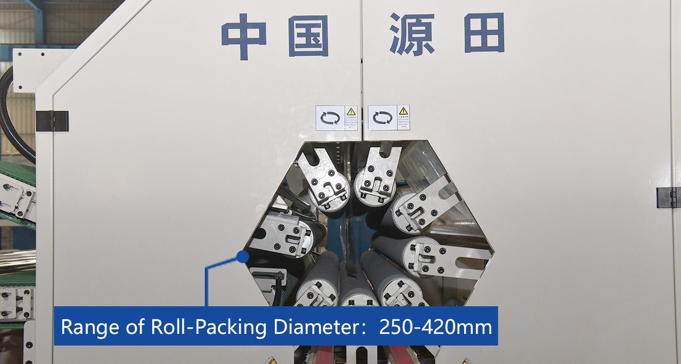 Range of Roll Packing Diameter