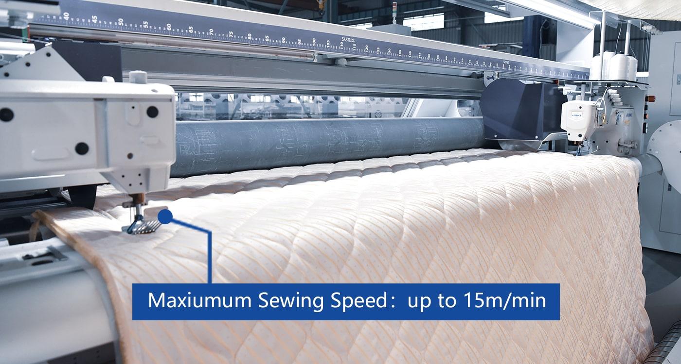 Maxiumum Sewing Speed