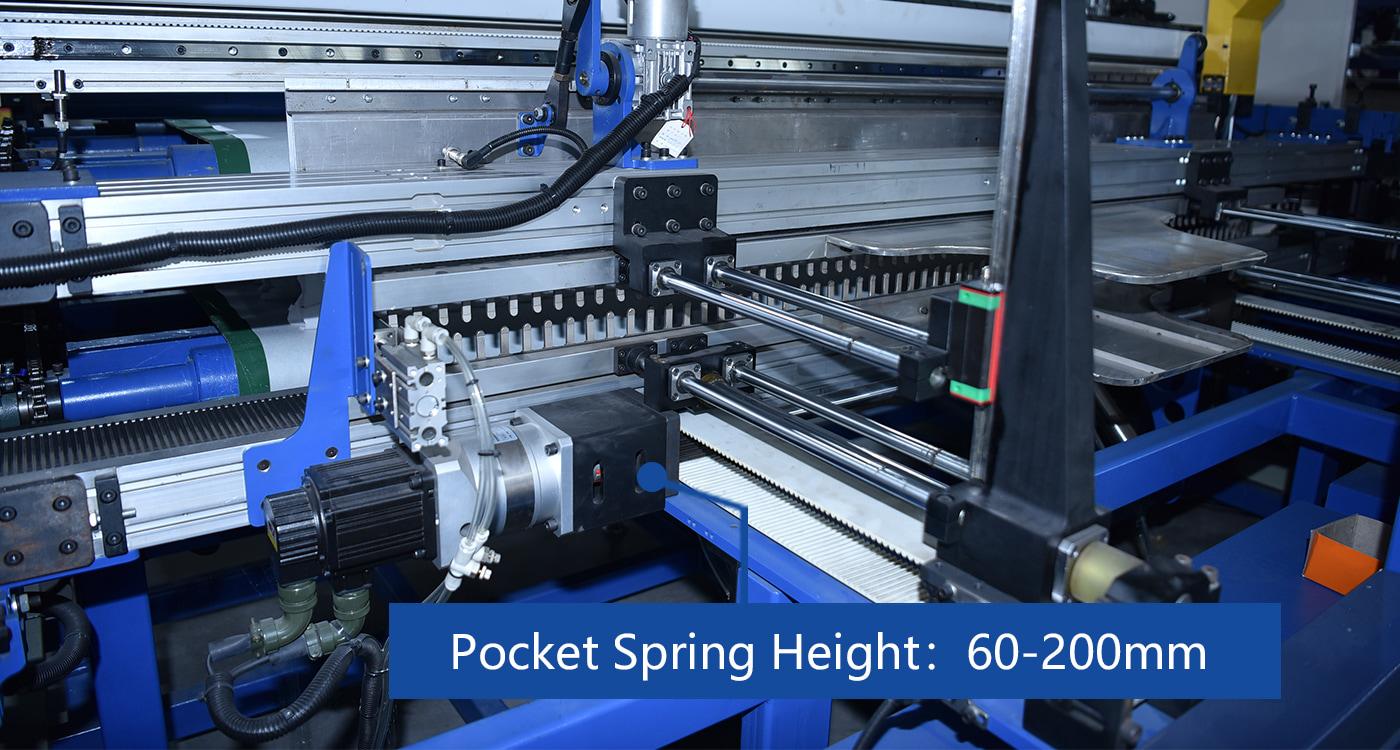Pocket Spring Height