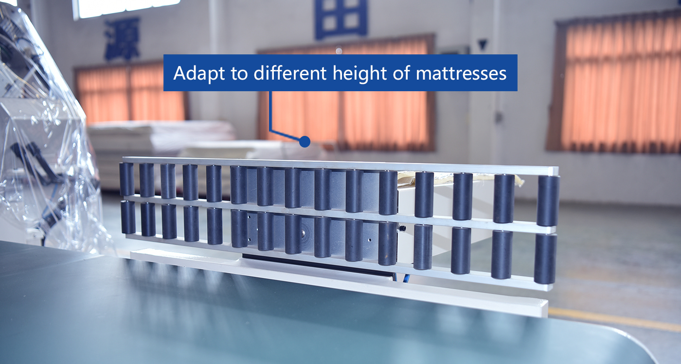 Adapt to different height of mattresses