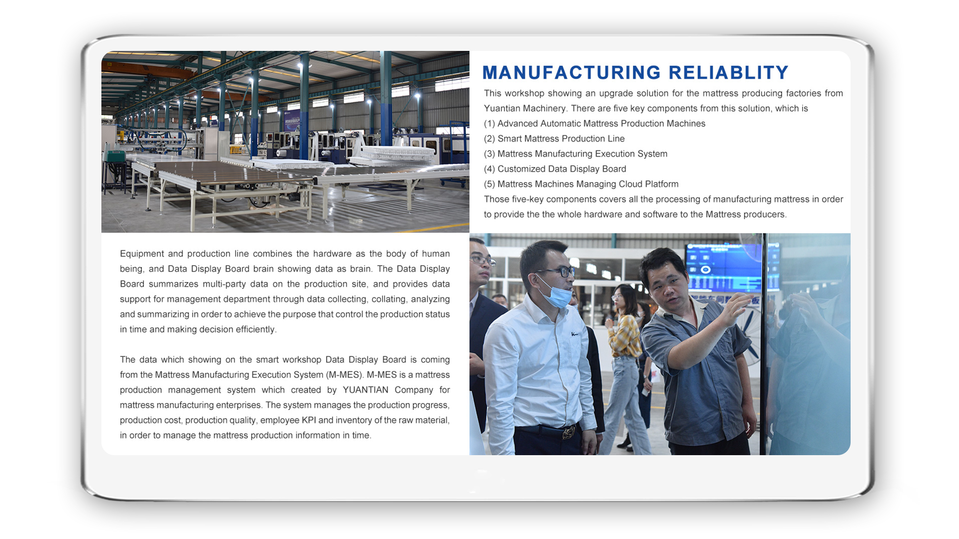 Manufacturing Reliablity